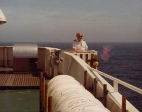 MV Norland Ship's Master Don Ellerby, 1982