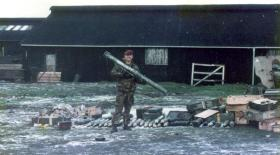 'Gaz' Steele, 2 PARA, Goose Green, Falkland Islands, 1982.