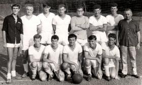Far East Land Forces football team, Phoenix Park, Singapore, c1964.