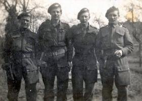 Members of 7th Para Bn, c1945.