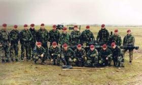 Wombat Live Firing, Anti Tank Platoon, Support Comapny, 2 PARA, 1992.