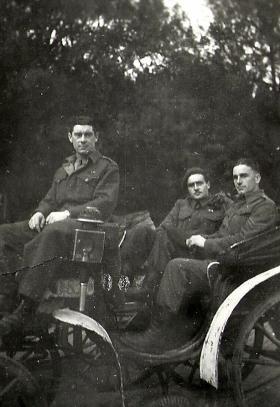 Members of 4th Para Bn, Rome, February 1945.