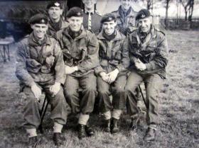 Members of No 1 (Guards) Indep Para Coy, Newcastle, 1957.