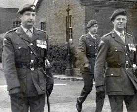 Parachute Regiment officers, c1960s.