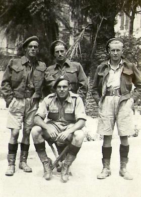 Members of 4th Para Bn, Foccia Italy, c1943.