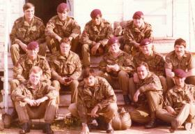 B Company, 1 PARA, Fort Bragg USA, 1979.