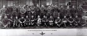 Officers of the 13th Battalion (Lancashire) The Parachute Regiment, February 1945.