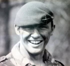 Frank Fletcher, 1 PARA, Patrols Platoon, California 1989.