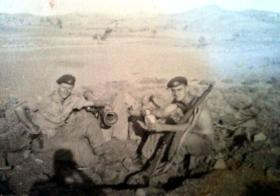 Two members of No 1 (Guards) Independent Company, Cyprus, 1956.