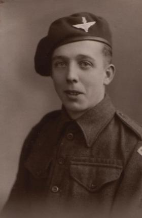 Pte Fred Auty, c1944.