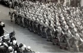 Freedom of Aldershot Parade, 18 May 1957.