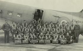 Group Photo of Members of 1st Parachute Battalion, c.1944