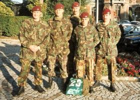 Members of 4 PARA on French Commando Course, France 1994.