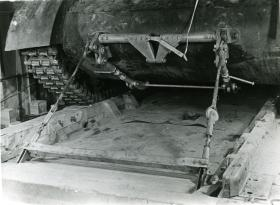 Front anchor points for the M22 locust in a Hamilcar Glider, c.1945