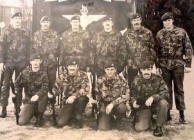 2 PARA shooting team Ballykinler 1979 -1980.
