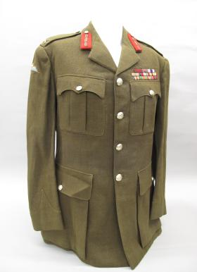 Service Dress Jacket of Maj Gen Frost from the Airborne Assault Museum Collection, Duxford, 2012.
