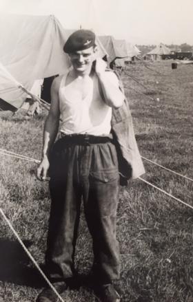 Driver John Pitt, date unknown.