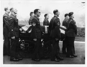 The Funeral Cortege of WO2 John Brown, 1967