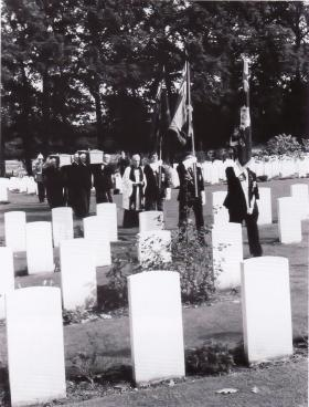 Funeral Service of Ptes Ager and Lowery, 1993