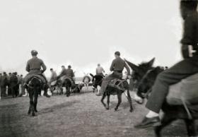 3rd Parachute Battalion 'Donkey Derby', Gaza, Palestine, Christmas 1946