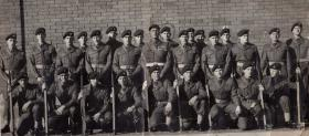 Platoon Intake 156 Depot 1958