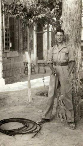 Gdsm Anderson, NAAFI club, Nicosia, c1956.