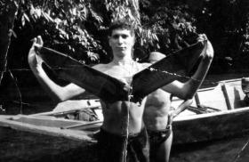 Gdsm Wybrow, Borneo, 1964.