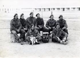Members of 2nd Para Bn Barletta, Italy, October 1943.