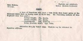 Boxing Notice, 19 February 1941.