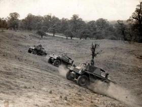 Phantom Regt on exercise, date unknown.