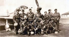 Members of 3 PARA, Boscombe Downs, 1955.