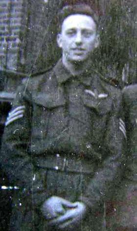 Sgt Sanders, Glider Pilot Regt, date unknown.