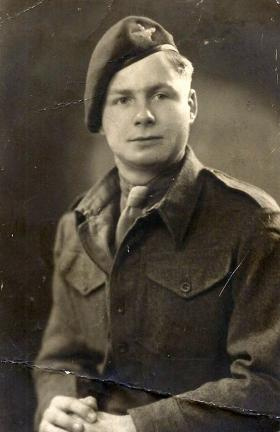 Pte 'Fred' Glover, date unknown.