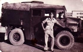 Gnr D. Jarratt, Palestine, c1946.