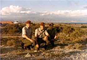 Members of  144 PFA RAMC (V), Akrotiri 1970.