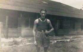 Pte TW Gould in Malaya 1946