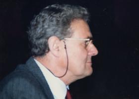 Major 'Jamie' Gourlay MC, at a 4th Para Bn Reunion, 20 January 1993.