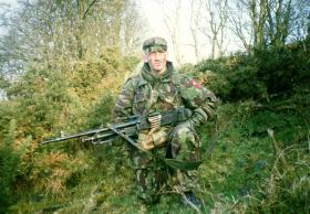 'Scouse' Cunningham, A Coy, 2 PARA, South Armagh, 1997.
