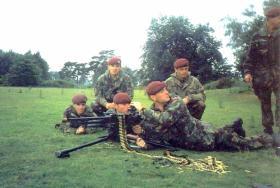 GPMG training - 10 PARA - 1995