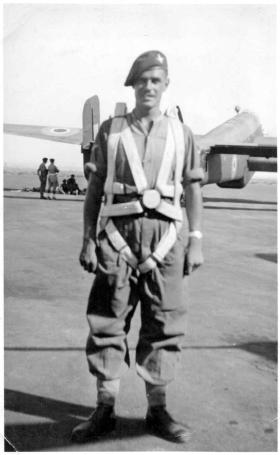 L/Cpl Graham Moore, Palestine 1946.