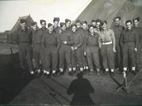 Group photograph including Norman Swift