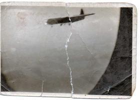 Gunner Elliott's photo of a Horsa Glider from a Glider