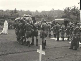 2 PARA burial detail for Sgt McNeilly, Singapore, 1965