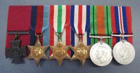 Medal set of Lt John H Grayburn VC