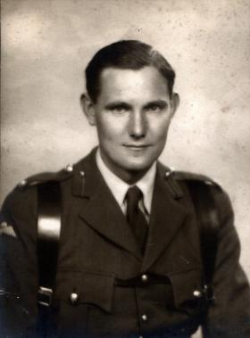 Major D W Wallis, c1944.