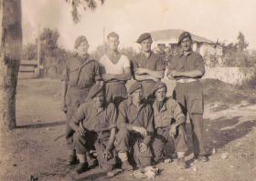 Members of 6th Parachute Battalion Greece 1944