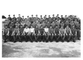 Group photo 16th Independent Lincoln Company Vogelsang Germany