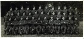 Group photo of members of 6th (Royal Welch) Parachute Battalion, early 1946.