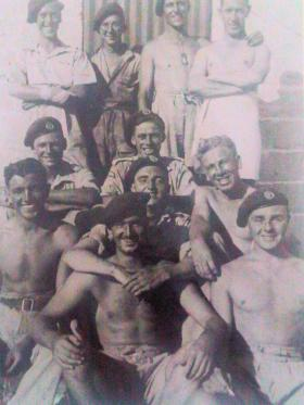 Group photograph of para personnel, North Africa 1943