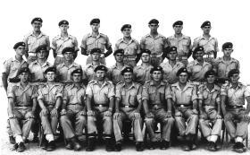 Group photo of members of C Coy, 2 PARA, Jordan, 1958.